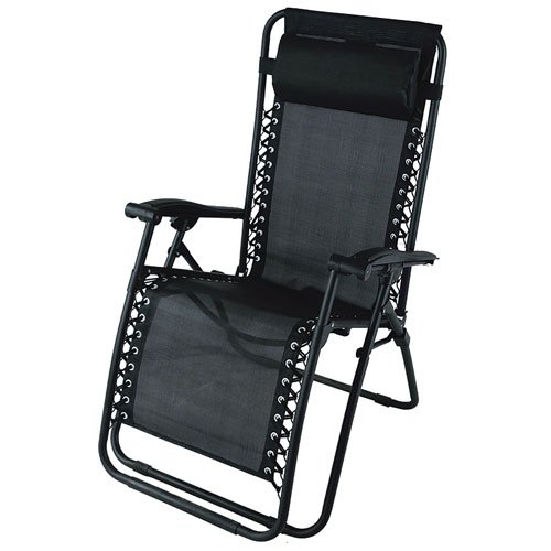 Zero Gravity Chair, Black, swatch