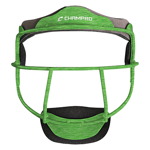 The Grill Softball Fielder's Facemask, Lime, swatch