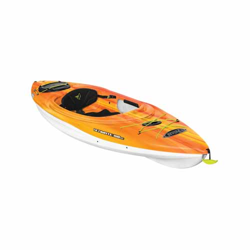 Ultimate 100 Sit-in Kayak, Red/Yellow, swatch
