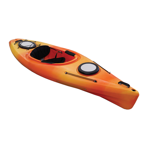 Quantum 124 Kayak, Yellow/Red, swatch