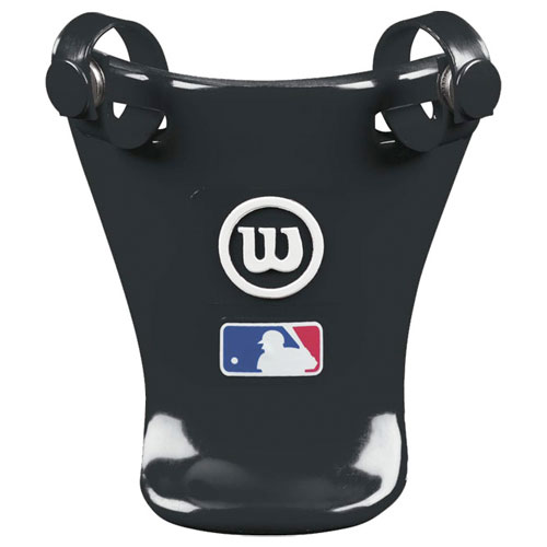 "4"" Throat Protector, Black, swatch"