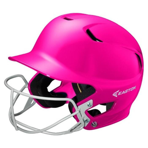Alpha Fast Pitch Helmet with Mask, Pink, swatch