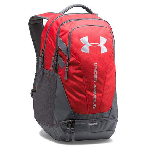 Hustle 3.0 Backpack, Red/Gray, swatch