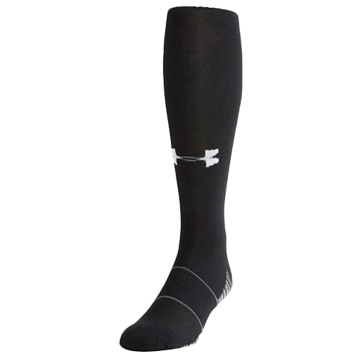 Youth Team Over the Calf Baseball Socks, Black, swatch