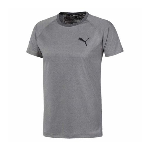Men's RTG Logo Shirt Sleeve Tee, Heather Gray, swatch