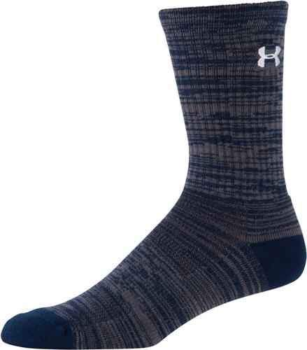 Men's Twist Tech Crew Socks, Navy, swatch