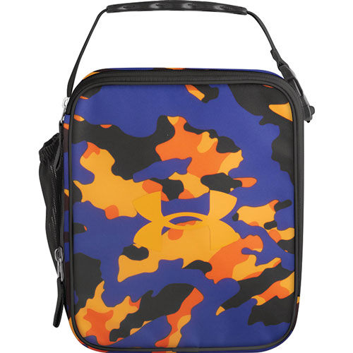 UA Scrimmage Lunch Box, PURPLE/ORANGE, swatch