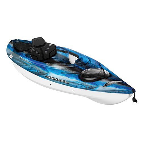 Ultimate 100NXT Sit-In Kayak, Blue/Black, swatch