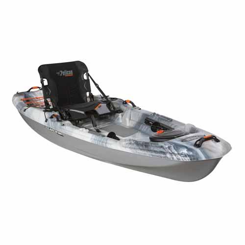 Catch 100 Angler Kayak, Gray, swatch