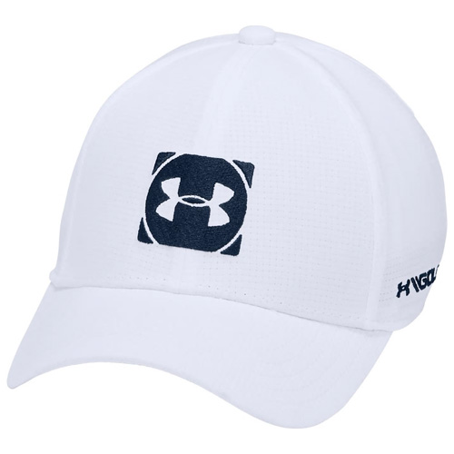 Boys' Official Tour 3.0 Golf Hat, White, swatch