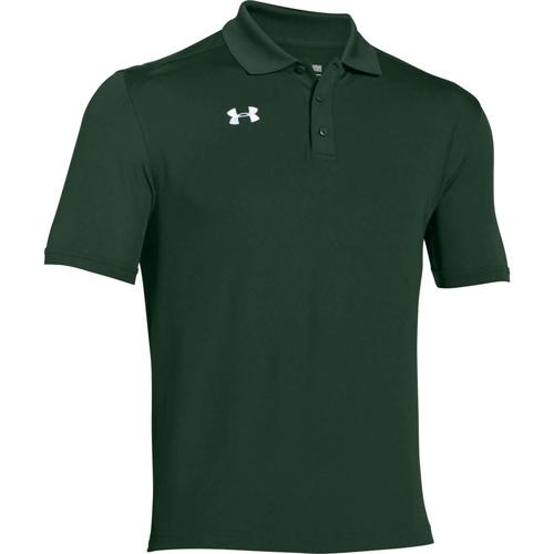 Men's Playoff Golf Polo, Cedar,Olive, swatch