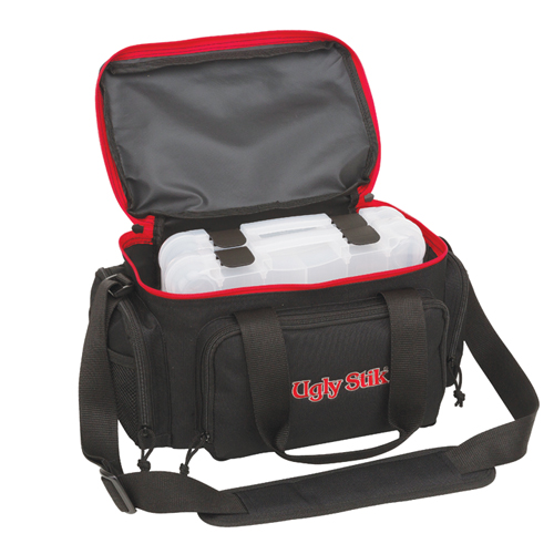 Soft Tackle Bag With Two Stow Boxes, Black, swatch