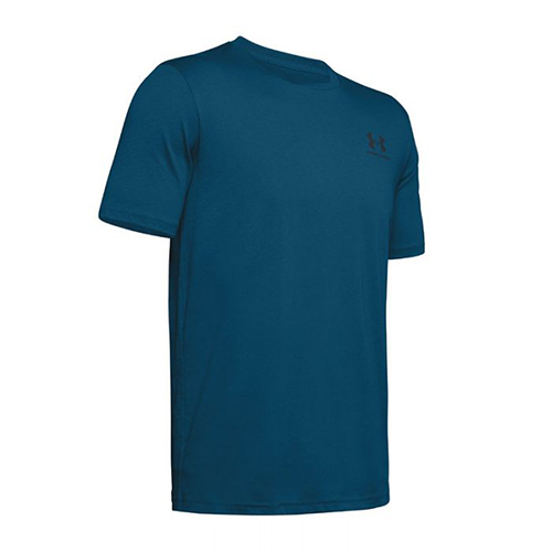Men's Sportstyle Left Chest Short Sleeve T-Shirt, Blue, swatch