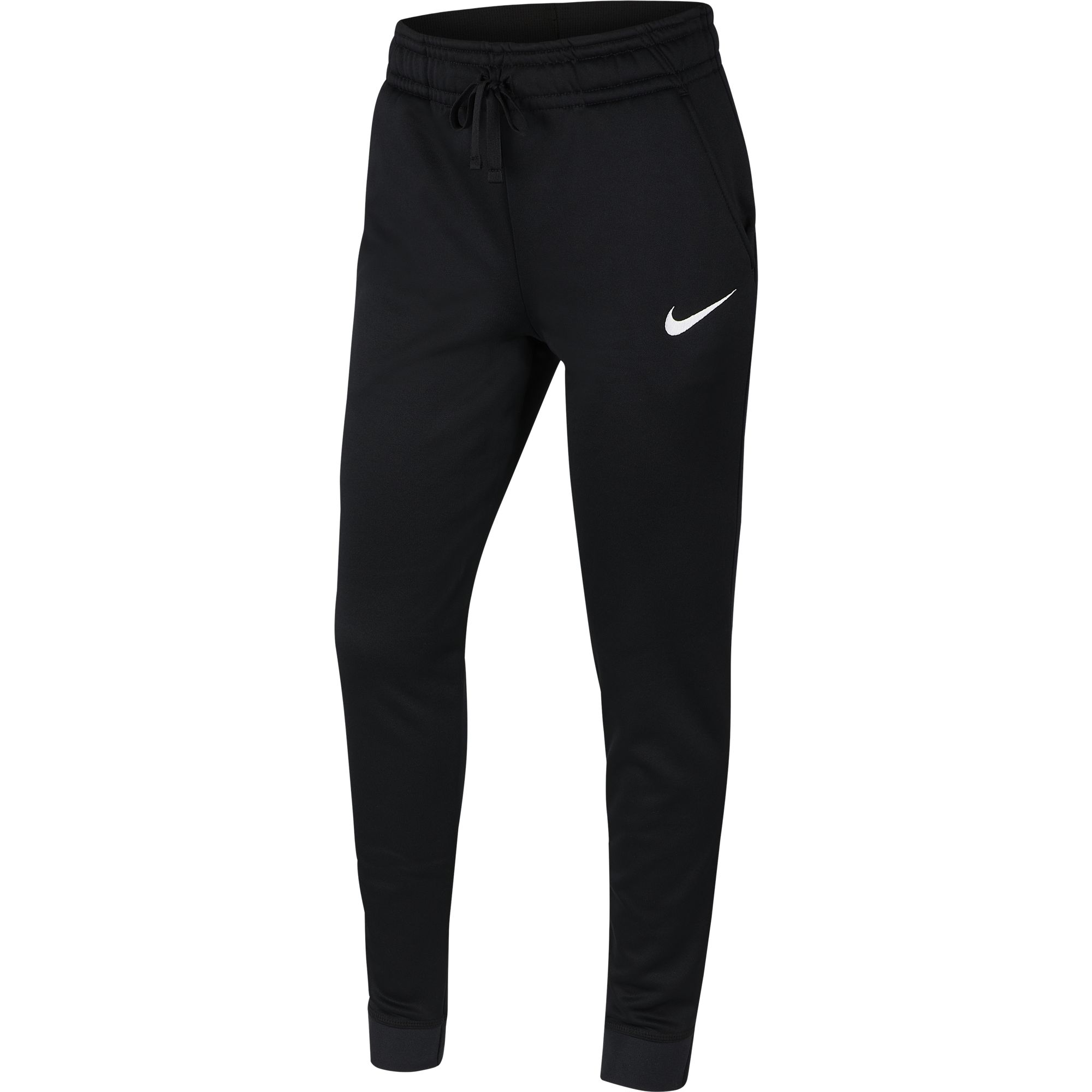 Girl's Therma Cuff Pant, Black, swatch