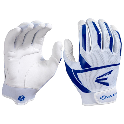 Women's Prowess Batting Gloves, White/Royal, swatch