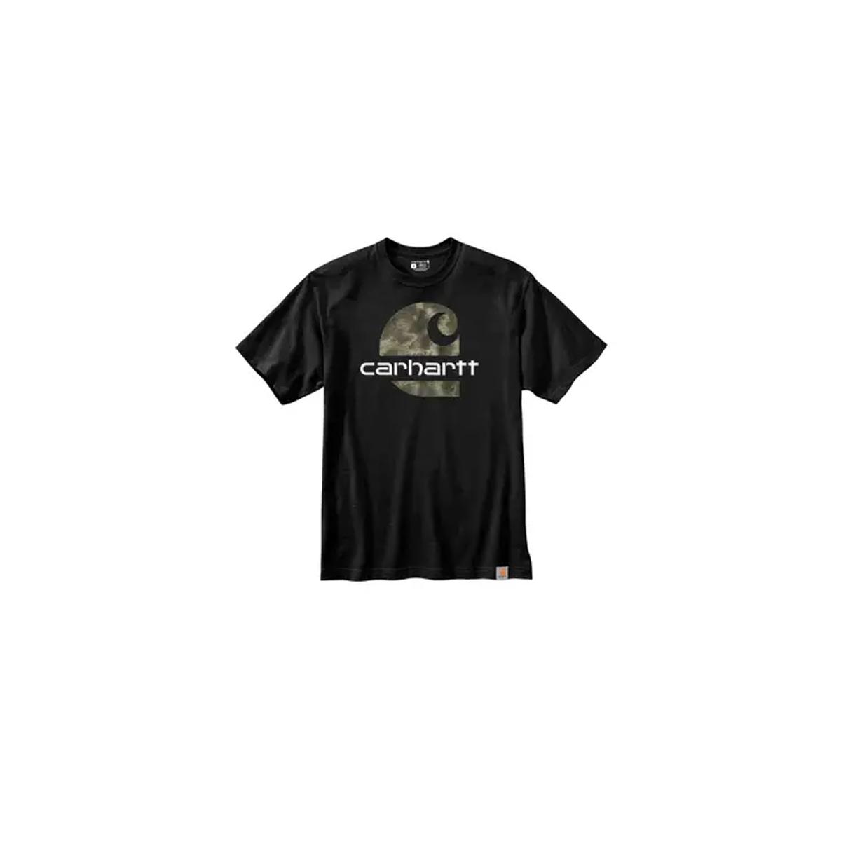 Men's Short Sleeve Graphic Tee, Black, swatch