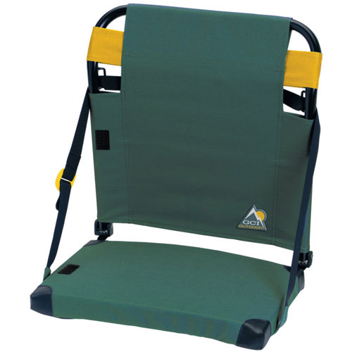 Bleacher Back Stadium Seat, Green/Yellow, swatch