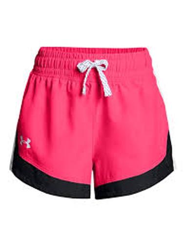 Girls' Sprint Shorts, Pink, swatch