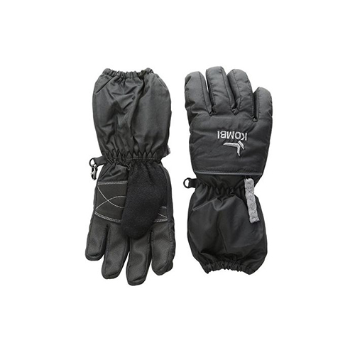 Boys' Gondola II Gloves, Black, swatch
