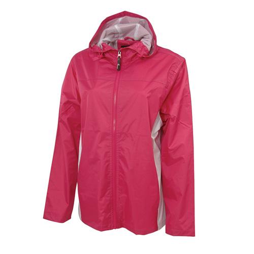 Women's Lightweight Rain Jacket, Hot Pink,Fuscia,Magenta, swatch