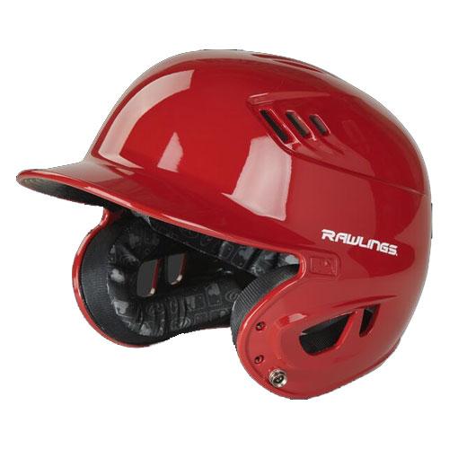 Senior R16 Batting Helmet, Red, swatch