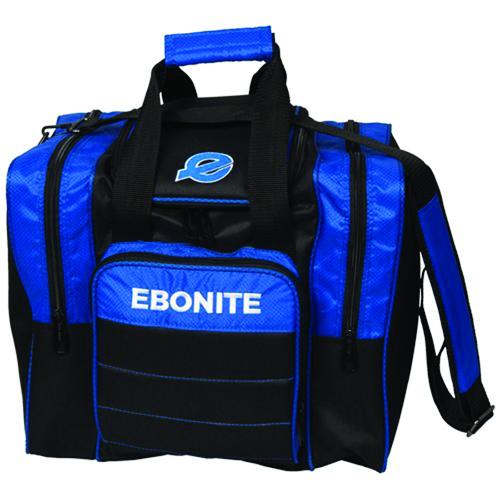 Impact Plus Single Tote Bowling Bag, Black/Blue, swatch