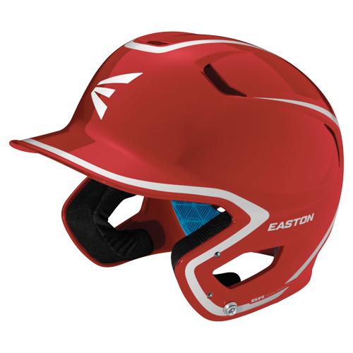 Junior Z5 Grip Two-Tone Batting Helmet, Red/White, swatch
