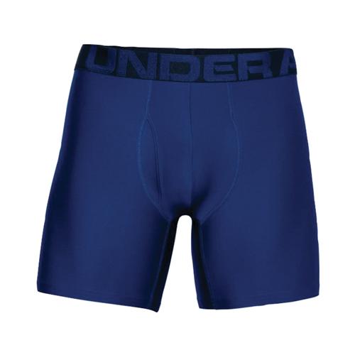 "Men's UA Tech 6"" Boxerjock 2-Pack, Blue, swatch"