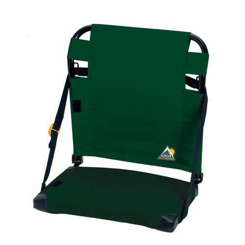 Bleacher Back Stadium Seat, Green/White, swatch