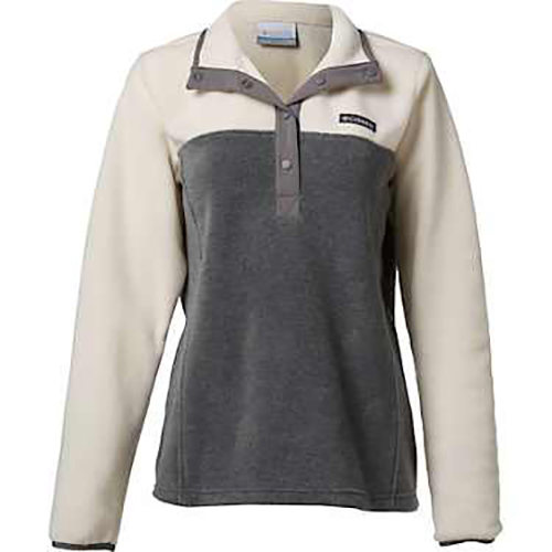 Women's Benton Spring 1/2 Snap Pullover, Heather Gray, swatch