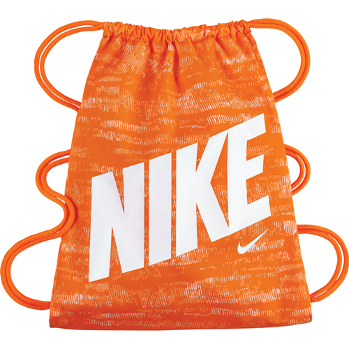 Youth Graphic Gymsack, Orange/White, swatch