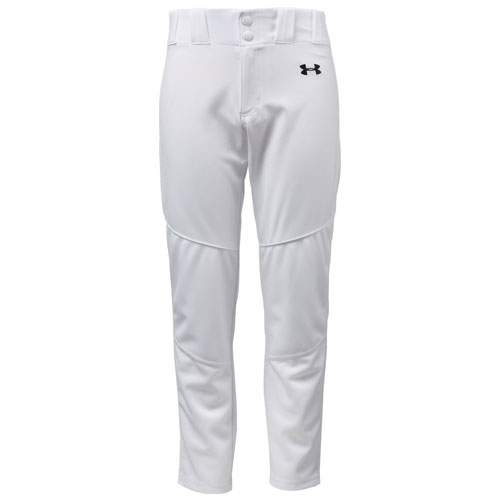 Youth Utility Relaxed Baseball Pants, White, swatch
