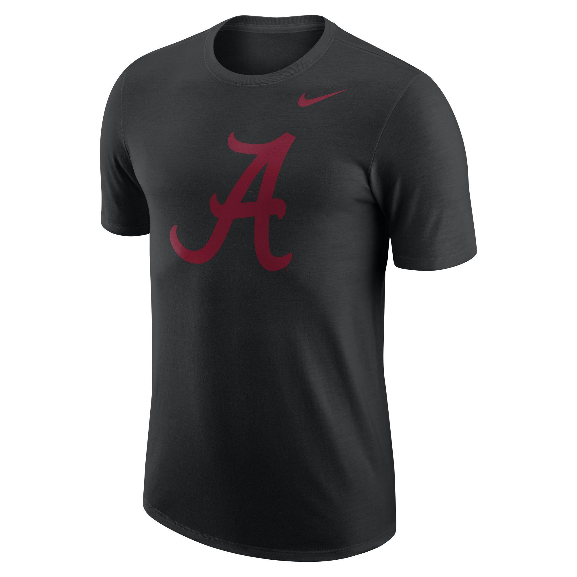 Alabama DF Logo Tee, Black, swatch