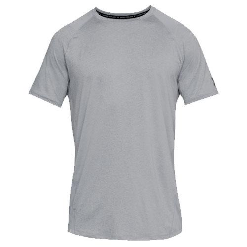 Men's Short Sleeve Heathered MK1 Tee, Charcoal,Smoke,Steel, swatch