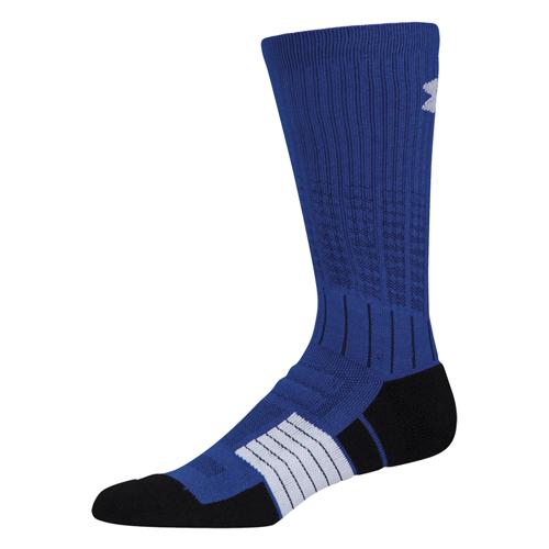 Men's Unrivaled Crew Socks, Blue, swatch