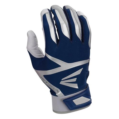 Men's Z7 VRS Hyperskin Batting Gloves, Gray/Navy, swatch