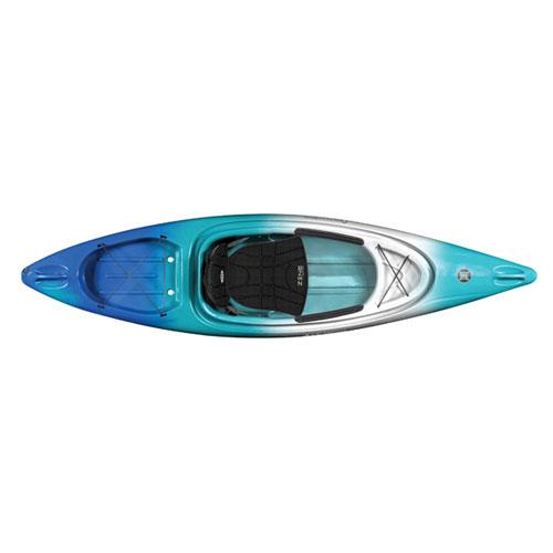 Impulse 10.0 Sit-In Kayak Package, Blue/Green, swatch