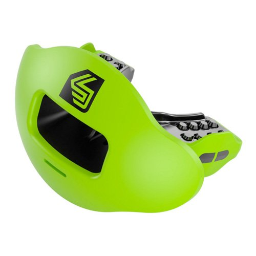 Max Airflow 2.0 Lip Mouthguard, Neon Green, swatch