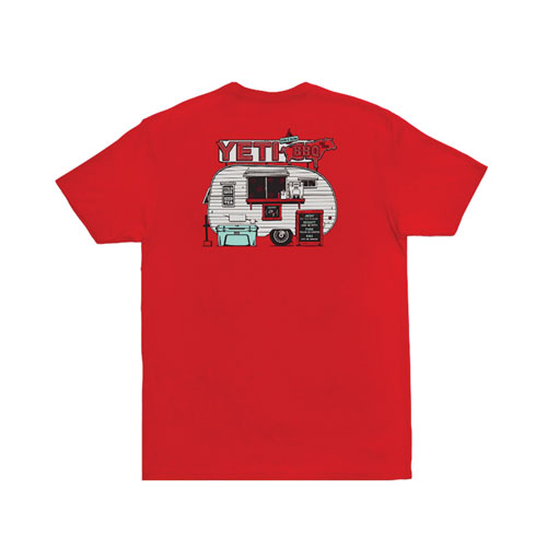 Men's BBQ Trailer Short Sleeve T-Shirt, , large