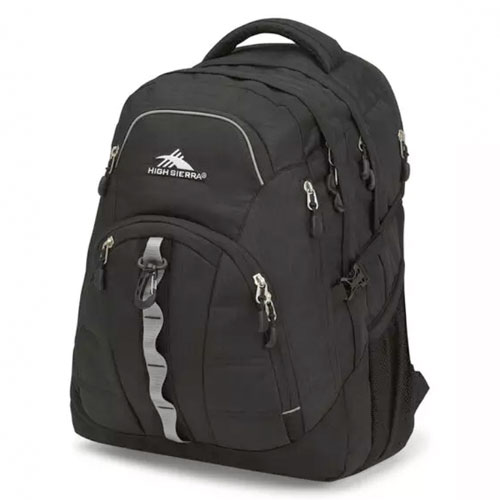 Access II Backpack, Black, swatch