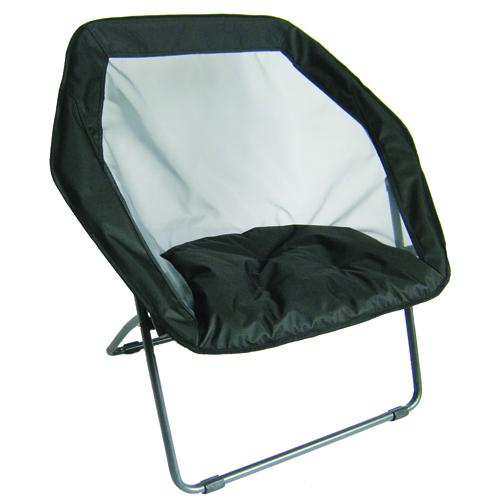 Hex Bungee Chair, Black, swatch