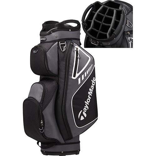 Cart Bag, Black/Gray, swatch