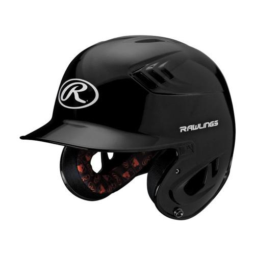 Junior R16 Batting Helmet, Black, swatch