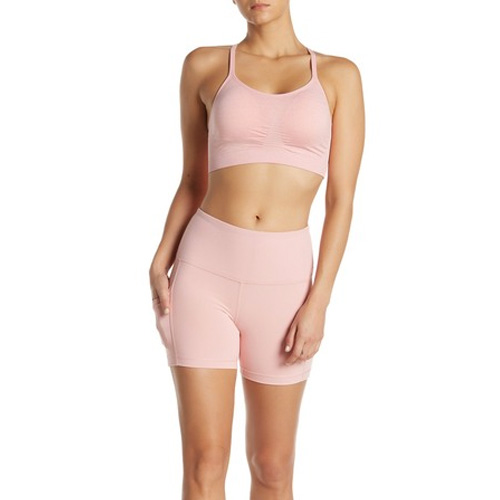 """Women's 5"""" High Rise Shorts, Pink, swatch"""