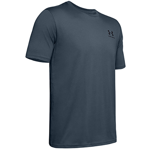Men's Sportstyle Left Chest Short Sleeve T-Shirt, Gray, swatch