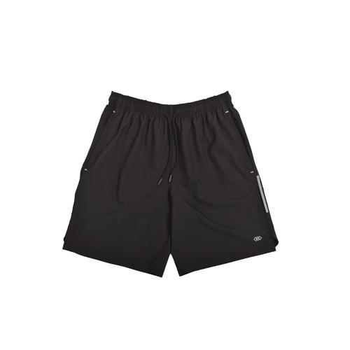 Men's Woven Shorts, Black, swatch
