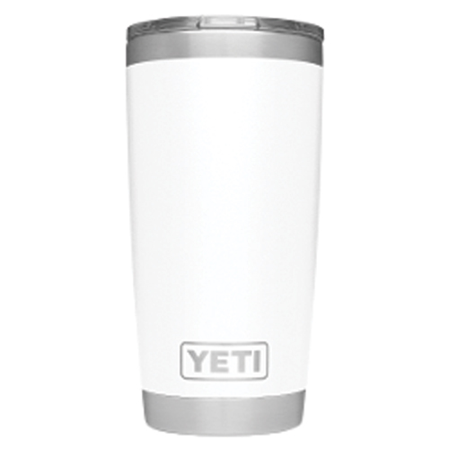 20 Oz. Rambler With Magslider, White, swatch