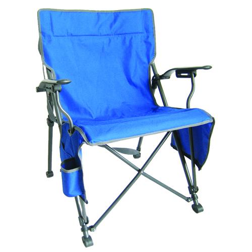 Zipper Close Hard Arm Chair, Royal Bl,Sapphire,Marine, swatch