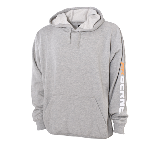 Signature Sleeve Hooded Pullover, Charcoal,Smoke,Steel, swatch