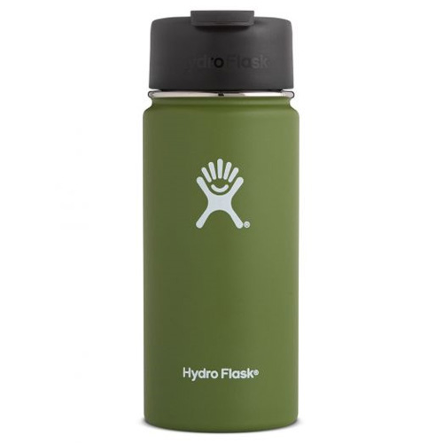 16 Oz Wide Mouth Water Bottle, Dkgreen,Moss,Olive,Forest, swatch